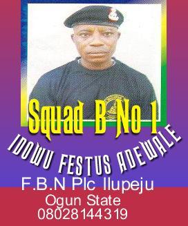 SQUAD B NO 1